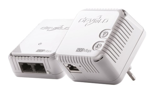 Devolo dLAN 500 WiFi 500 Mbit/s Ethernet LAN Wi-Fi White 1 pc(s)