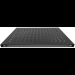 "Intellinet 19"" Fixed Shelf, 1U, 800mm Depth, Heavy-Duty, Max 100kg, Black"