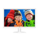 Philips Monitor 24  16:9 LED, 243V5QHAWA, White, 1920x1080, Input: VGA/DVI/HDMI , VESA, Speakers , 3YR