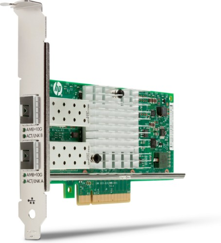 HP Intel X550 10GBASE-T Dual Port NIC Ethernet 10000 Mbit/s Internal