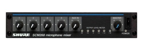 Shure SCM268 4 channels 20 - 20000 Hz Black