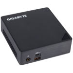 Gigabyte GB-BKi3A-7100 (rev. 1.0) 2.4GHz i3-7100U 0.46L sized PC Black