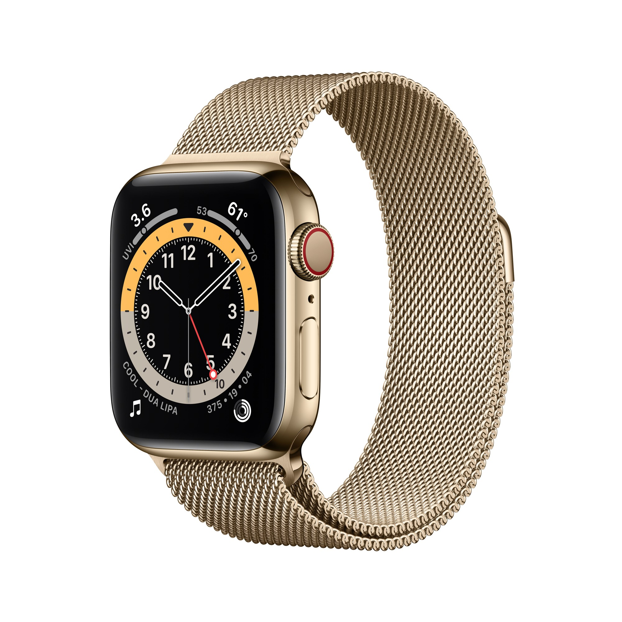 Apple Watch Series 6 OLED 40 mm Oro 4G GPS (satélite)