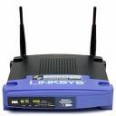Linksys WRT54GL Black,Blue wireless router