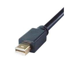 2M ELITE MINI DIS. PORT TO HDMI CONNECTOR CABLE MALE TO MALE BLACK