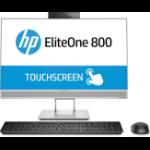 "HP EliteOne 800 G4 60.5 cm (23.8"") 1920 x 1080 pixels Touchscreen 3 GHz 8th gen Intel® Core™ i5 i5-8500 Silver All-in-One PC"