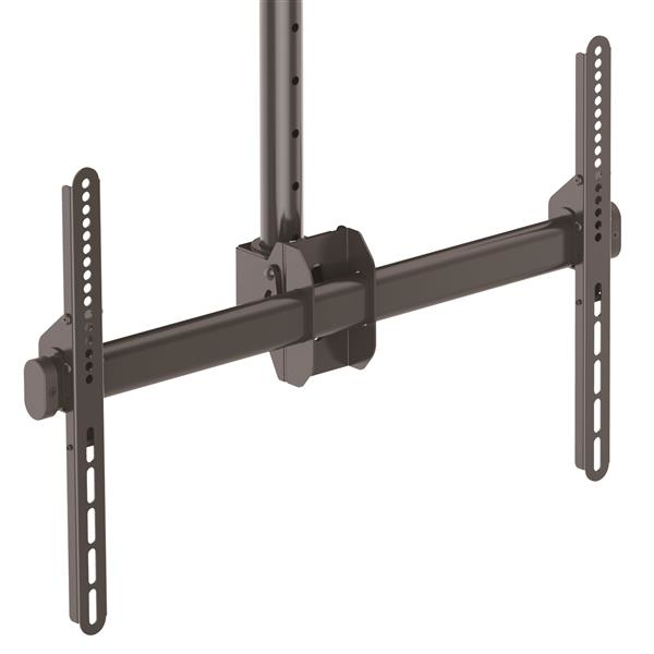 StarTech.com Flat-Screen TV Ceiling Mount - Short Pole - Full Motion