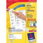 Avery L7163-100 addressing label White