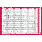 Sasco 2410134 wall planner Pink,White 2021