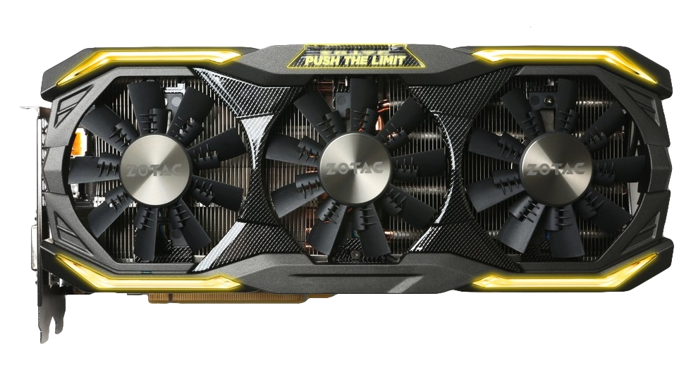 Zotac ZT-P10800I-10P GeForce GTX 1080 8GB GDDR5 graphics card
