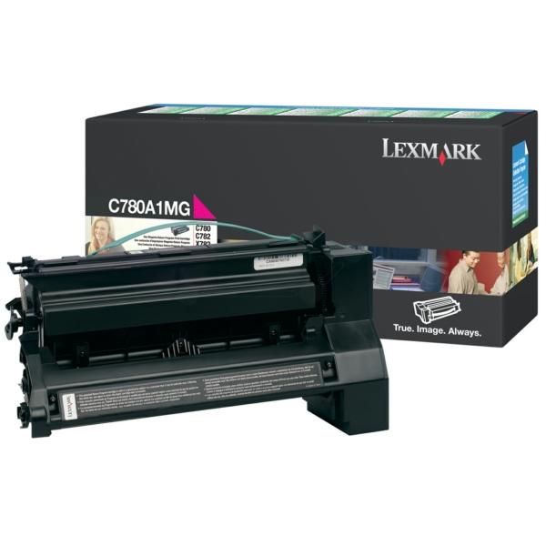Lexmark C780A1MG Toner magenta, 6K pages @ 5% coverage