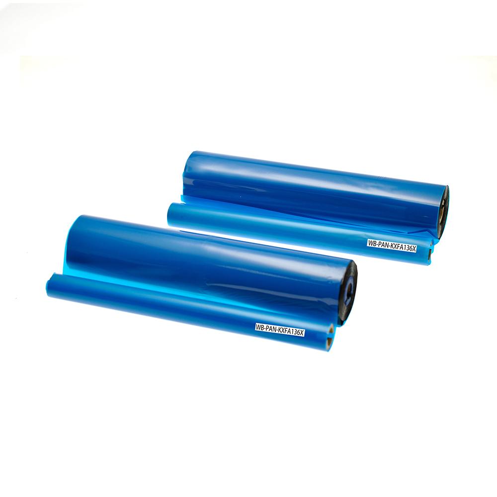 TSW Compatible Panasonic Thermal Ribbon KX-FA136X Black 660 Page Yield *7-10 day lead*