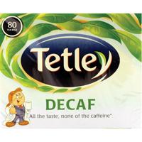 Tetley DECAFFEINATED TEA BAGS PK805012X