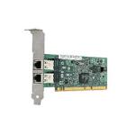 Hewlett Packard Enterprise NC7170 PCI-X Dual Port 1000T Gigabit Server Adapter Internal Ethernet 1000Mbit/s networking card