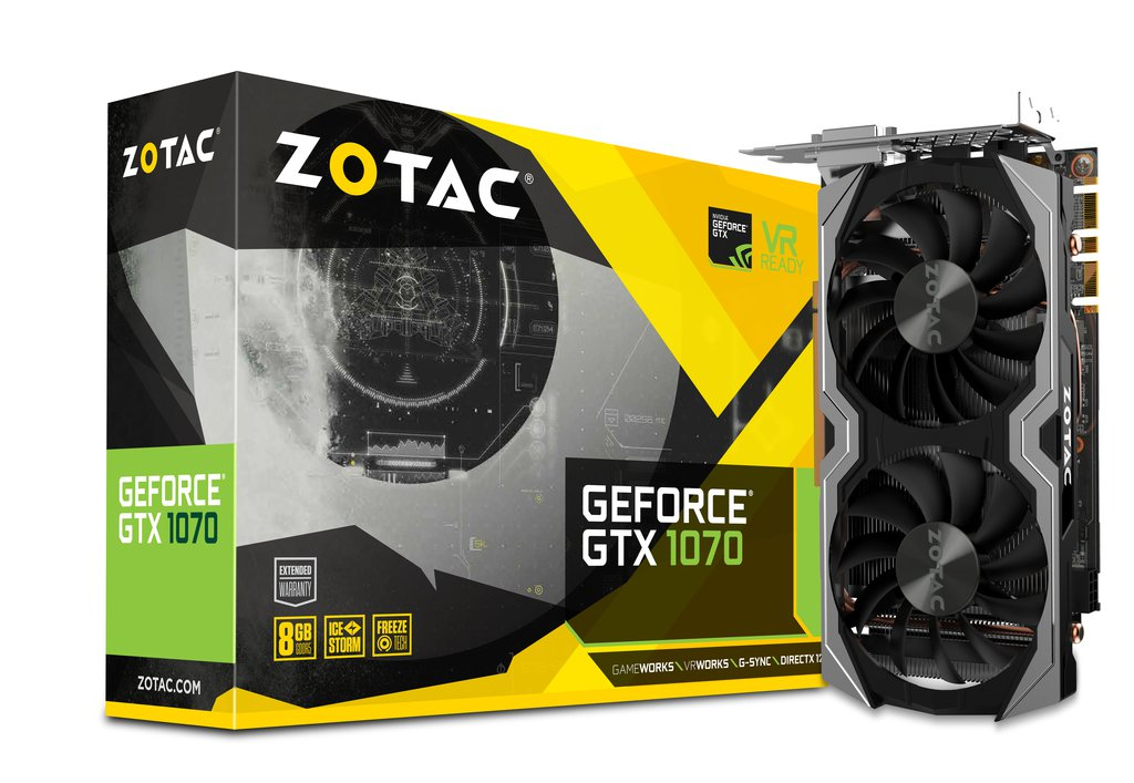 Zotac GeForce GTX 1070 Mini GeForce GTX 1070 8GB GDDR5