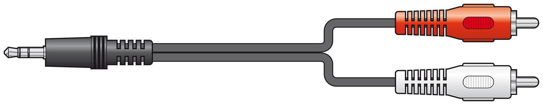 AV Link 112.068UK audio cable 10 m 3.5mm 2 x RCA Black,Red,White