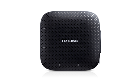TP-LINK (UH400) Portable External 4-Port USB 3.0 Hub Driverless Black