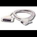C2G DB9F to DB25M Serial Adapter Cable 1ft DB9 DB25 cable interface/gender adapter