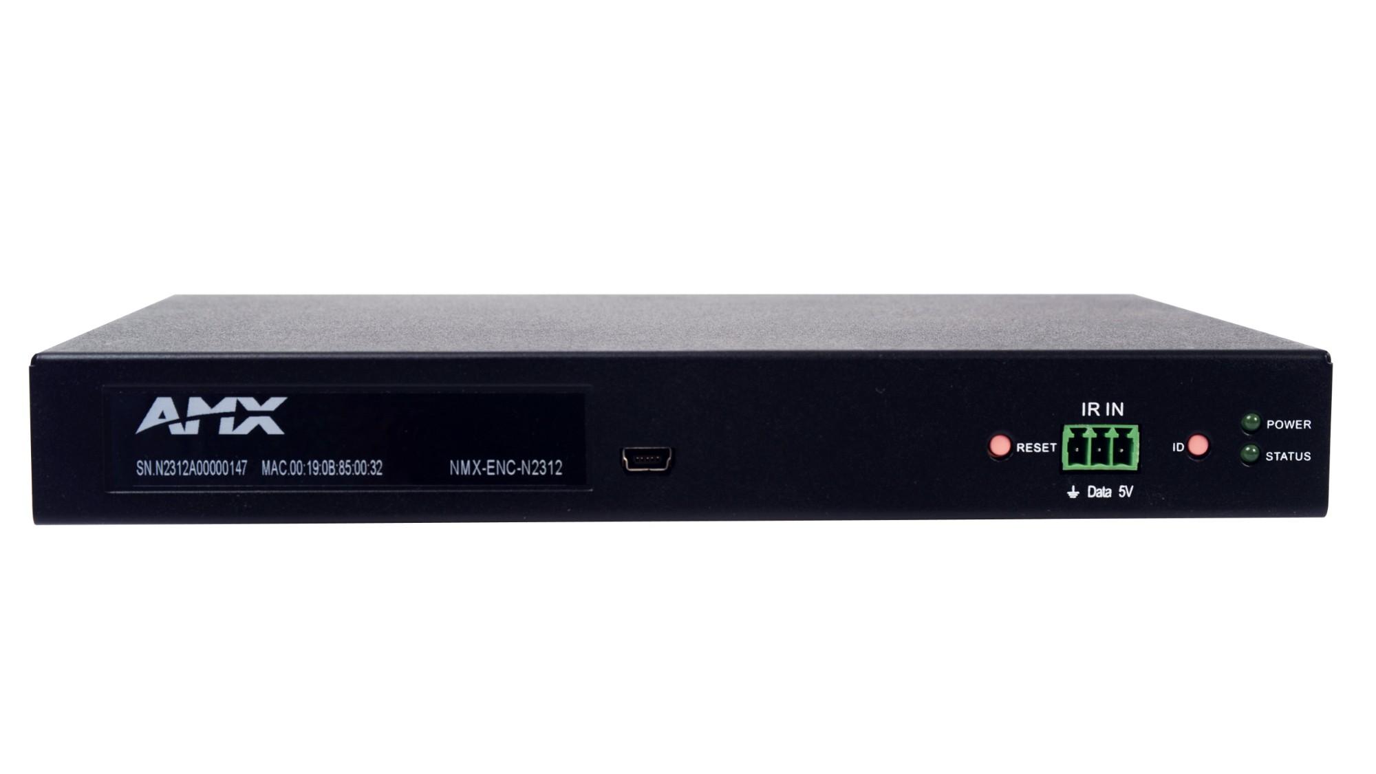 AMX NMX-ENC-N2312 4096 x 2160pixels 60fps video servers/encoder