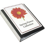 MARBIG CLEARVIEW DISPLAY BOOK 100 POCKET BLACK