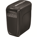 Fellowes 60CS paper shredder Cross shredding 23 cm Black