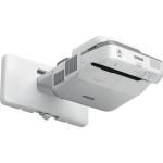 Epson PowerLite 680 data projector Wall-mounted projector 3500 ANSI lumens 3LCD XGA (1024x768) Gray, White