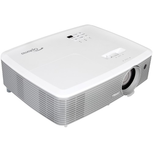 Optoma W400+ data projector 4000 ANSI lumens DLP WXGA (1280x800) 3D Desktop projector Grey, White