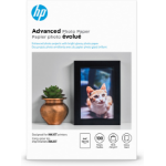 HP Advanced Glossy -100 sht/4 x 6 in borderless photo paper