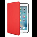 Logitech 920-007628 mobile device keyboard Red Bluetooth