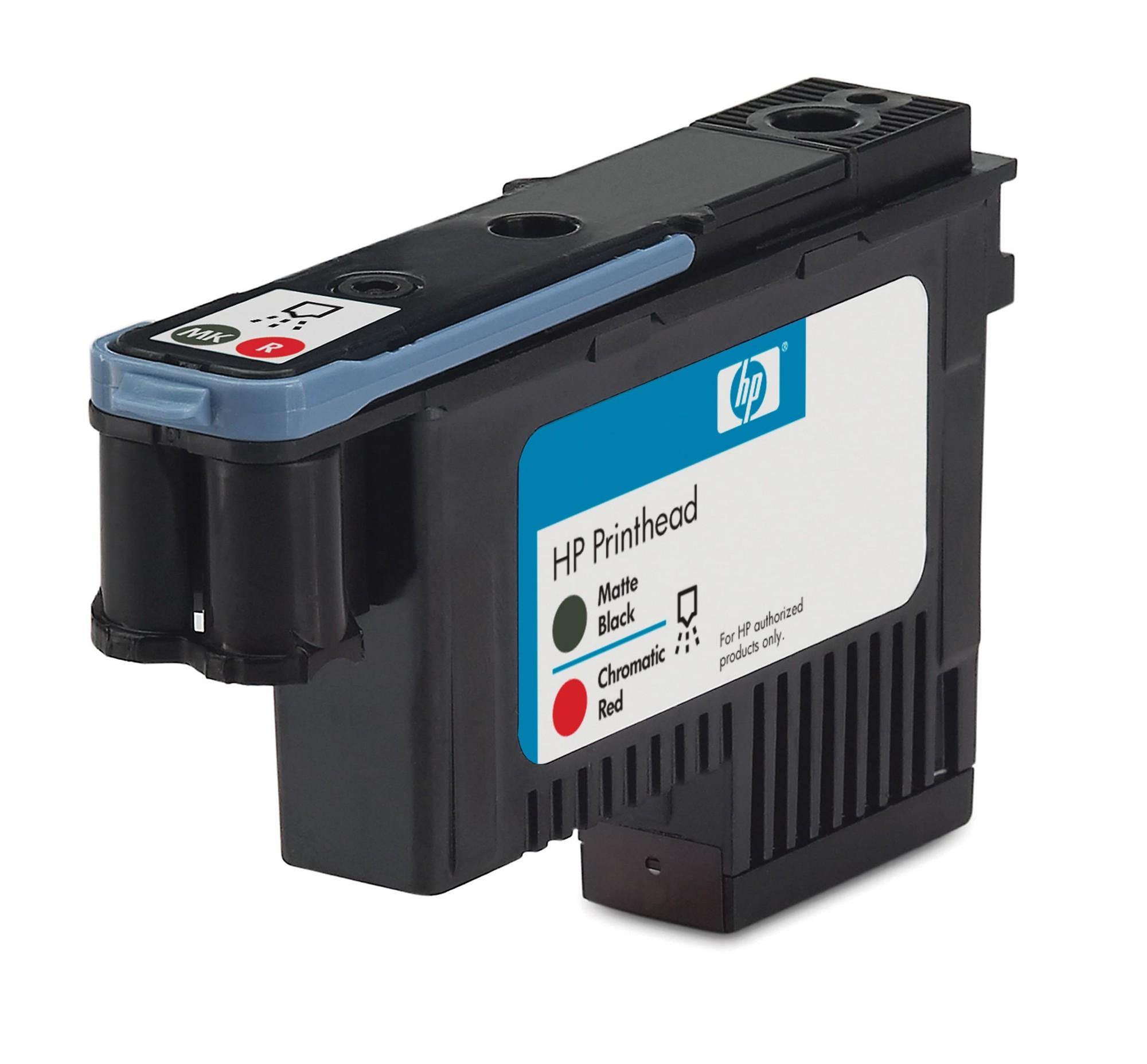 HP 73 matzwarte/chromatisch rode DesignJet printkop