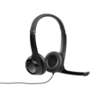 Logitech H390 Binaural Kopfband Schwarz