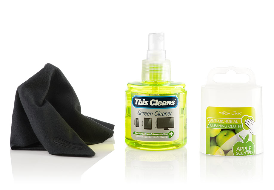 Techlink Apple Screens/Plastics Equipment cleansing pump spray 120ml