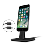 TwelveSouth HiRise For iPad mini 4 iPad Pro 9.7'' iPhone 5 5s 6 6s 7 7 Plus mobile device dock station Tablet/Smartphone Black