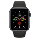 Apple Watch Series 5 OLED 44 mm Grey 4G GPS (satellite)