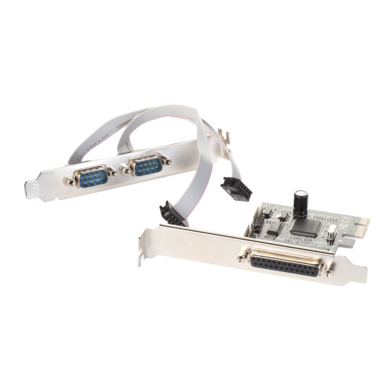 i-tec PCI-Express Card 2x Serial RS232 + 1x Parallel DB25