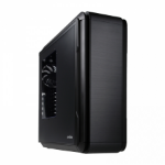 anidees AI6 BLACK WINDOW Midi-Tower Black,Silver computer case
