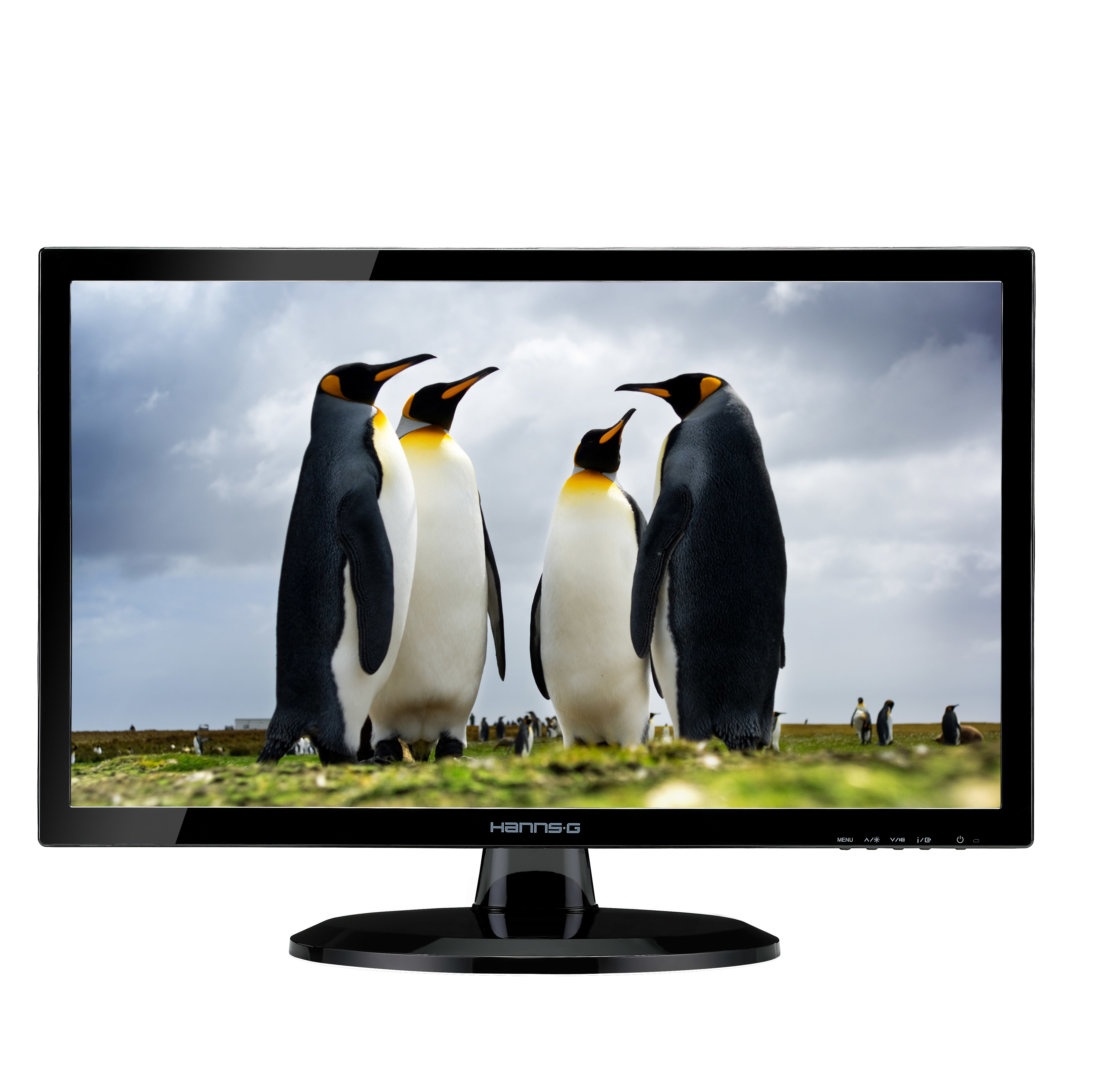 "Hannspree Hanns.G HE247DPB 23.6"" Black Full HD LED display"