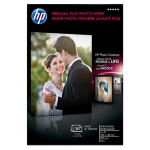 HP Premium Plus 25 sht/Letter photo paper