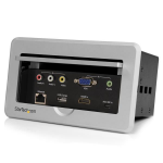 StarTech.com In vergadertafel te monteren connectiviteitsbox HDMI / VGA / Mini DisplayPort naar HDMI uitgang met USB-snellaadpoort