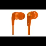 Acteck EB-800 Intraaural Dentro de oído Naranja