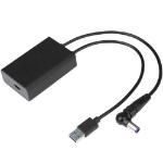 TARGUS ACA42AUZ, USB-C DEMULTIPLEXER ADAPTER (3-PIN), DL TYPE, 50W CHARGING
