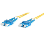 StarTech.com 2m Singlemode Duplex Fiber Cable SC-SC 2m Yellow fiber optic cable