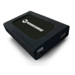 Kanguru U3-2HDWP-1T external hard drive 1000 GB Black