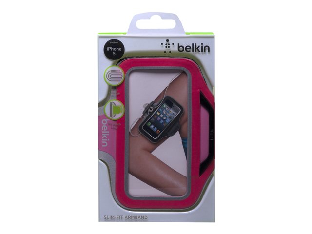Neoprene Slim Fitarmband For iPhone 5 In Pink