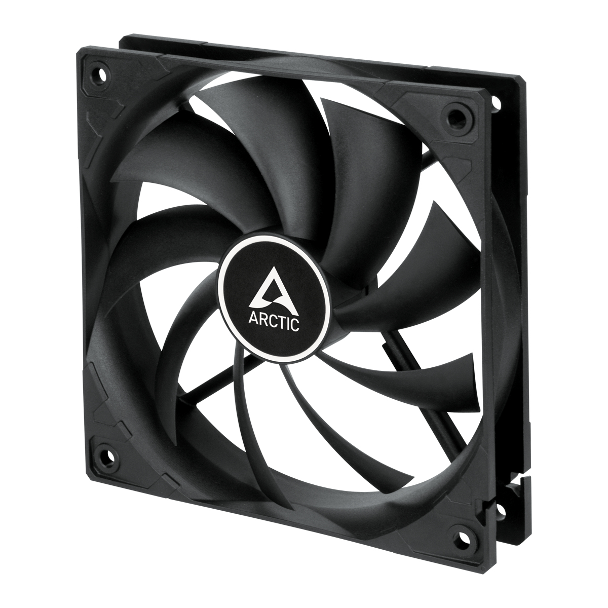 ARCTIC F12 PWM - 120 mm PWM Case Fan Computer case Cooler 12 cm Black 1 pc(s)
