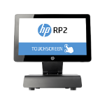 "HP RP2 Retail System Model 2030 All-in-one 2.41GHz J2900 14"" 1366 x 768pixels Touchscreen Black POS terminal"