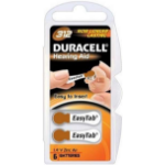 Duracell DA312 Zinc-Air 1.4V non-rechargeable battery