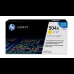 HP 504A Origineel Geel 1 stuk(s)