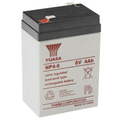 Yuasa NP4-6 rechargeable battery