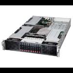 Supermicro SuperServer 2028GR-TRH Intel® C612 LGA 2011 (Socket R) Rack (2U) Black